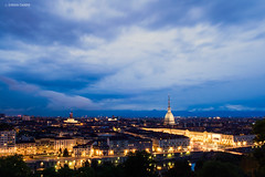 Turin by night (Gio Case) Tags: night torino italia cityscape piemonte bluehour