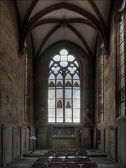 Dom zu Meien (p h o t o . w o r l d s) Tags: church deutschland fuji dom kirche sachsen hdr kreuzgang photomatix tonemapping meisen s5pro photoworlds allerheiligenkapelle