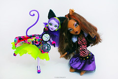 * (T.Joe) Tags: monster high wolf cheshire kitty after ever clawdeen