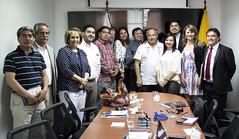 6. Reunión con concejales chilenos
