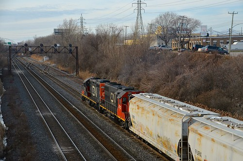 Towards Taschereau yard