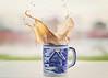Day 31/366 January Coffee Splash (HugsNotDrugs11385) Tags: coffee mug splash splashphotography coffeesplash