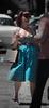 DSC_0785 (La Marquise de Jade) Tags: woman smile soleil dress robe femme rockabilly été sourire couleur tatto pois tatouage léopard décolleté féminine séduisante évenement sélective