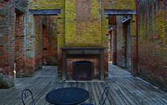 Manor House Ruins (davidwilliamreed) Tags: old brick abandoned neglected textures weathered walls patina barnsleygardens adairsvillega manorhouseruins