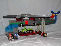 Lego Duplo - Hubschrauber - Scycrane 02 (*hannes*) Tags: lego helicopter toolo skycrane hubschrauber duplo moc helikopter rotors