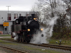 Steam train Minden Germany 21st December 2013  21-12-2013 11-05-19 (dennoir) Tags: train germany december 21st steam minden 2013 110519 21122013