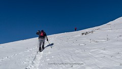 Almost On Top (Konstantinos Angelidis) Tags: blue sky white snow hiking bluesky greece summit hiker templa karditsa agrafa greekmountains