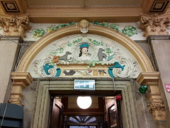 St Nicholas Market (Badly Drawn Dad) Tags: bristol geotagged unitedkingdom stnicholas avon portico gbr stnicholasmarket decorativeplasterwork geo:lat=5145453842 geo:lon=259361432