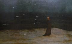 Caspar David Friedrich, Monk by the Sea