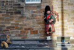 Bagpiper (Pankcho) Tags: street portrait musician music man guy classic scotland calle edinburgh kilt retrato gaitero young scottish escocia streetperformer chico typical msica edimburgo bagpiper joven msico scotchman callejero gaita clsico tpico escocs bagpie