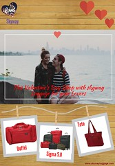 Valentine's Day with Skyway Luggage (skyway luggage) Tags: day valentines carryon skyway