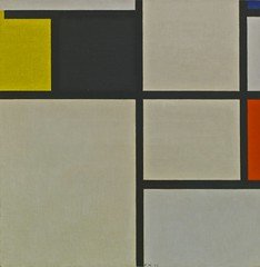 Tableau with Yellow, Black, Blue and Grey (1923) - Piet Mondrian (1872 - 1944) (pedrosimoes7) Tags: portugal lisbon belem pietmondrian centroculturaldebelem berardocollection artgalleryandmuseums ecoledesbeauxarts
