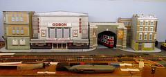 Work in progress (kingsway john) Tags: building london scale layout model transport models tram card kits oo gauge tramway kingsway 176