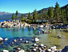 Sand Harbor Island, Lake Tahoe, NV 9-10 (inkknife_2000 (6 million views +)) Tags: forest nevada laketahoe alpinelake mountainlake sandharbor rocksinwater lakeshoreline dgrahamphoto