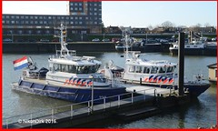 Dutch Police P94 and P66. (NikonDirk) Tags: 2005 holland water netherlands dutch port river boot bay harbor boat riot nikon marine ship foto cops harbour nederland police vessel stan national maritime agency cop infrastructure 1800 dvp nautical naval haringvliet infra damen patrol dwp seaport hollands unit dsp rhib diep rvp politie 2505 dienst landelijke rivier p99 eenheid constables infrastructuur patrols zhp klpd zeehaven waterpolitie spopo zeehavenpolitie p96 hulpverlening rivierpolitie nikondirk stanpatrol