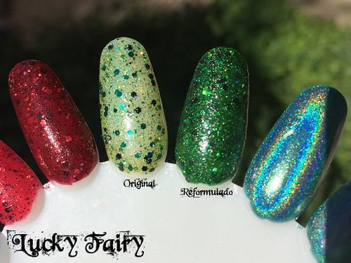Comparação - Lucky Fairy original e reformulado