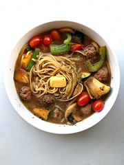 Umami Meatball Noodle Soup (the_garden_slug) Tags: family food cloud fish breakfast bar dinner pumpkin lunch soup lava restaurant ginger bacon cafe singapore events rustic egg salmon diner ham bistro blueberry foodporn rosemary brunch shake portobello noodle slug citrus creamsicle meatball wholesome whitechocolate marmite catering shoyu umami shortcake hearty familyrestaurant alldaybreakfast sgfood eggwhiteomelette wwwthegardenslugcom thegardenslug breakfastporn alldaybrunch sharinghappyness