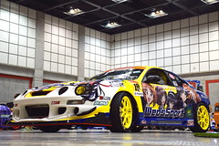 Toyota Celica (Andr.32) Tags: cars car japan photography toyota  daydream toyotacelica celica sportcar sportcars t200 wedssport acttower itasha   girlsundpanzer