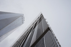 Grey sky (patrick.tafani) Tags: world new york city one center trade