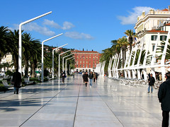 Croatia, Split street scene (PR Alejandra Perez) Tags: people streets europe croatia split guides streetscenes joannesperry split1jpg