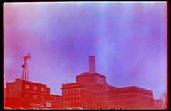 (|Digital|Denial|) Tags: winter sky colour analog 35mm crossprocessed slidefilm ektachrome filmgrain expiredfilm brickbuildings colourshift retrochrome