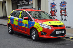 BX65 DRV (Emergency_Vehicles) Tags: london police protection 83 metropolitan diplomatic bx65drv