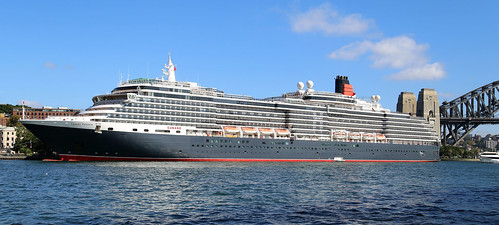 MS Queen Victoria of Cunard LIne, tomorrow you might think same ship is still there, but it
