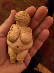 Venus (Chris Protopapas) Tags: vienna sculpture art venus hand fertility godess iphone willendorf