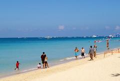 White Beach, Boracay island, Western Visayas, Philippines (Darius Travel Photography) Tags: pentax philippines boracay filipinas pilipinas boracayisland    pentaxk100dsuper   filipinai