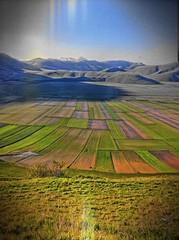 CASTELLUCCIO LOW-FI 1 (mahakumbha) Tags: italy landscape italia di paesaggi marche umbria norcia castelluccio