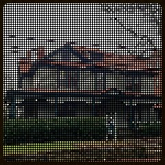 Screened House (Melinda Stuart) Tags: house design victorian effect beaded beadart bighugelabs