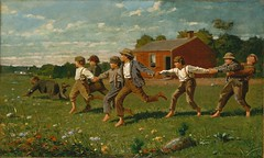 Snap the Whip 1872 Winslow Homer (Greenbelter) Tags: