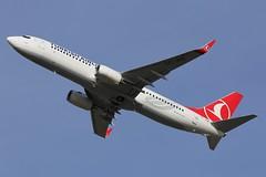 TC-JHZ - LGW (B747GAL) Tags: boeing airlines turkish gatwick lgw 737800 egkk tcjhz
