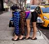 On the Sidewalks of New York ... (JFGryphon) Tags: fun mannequins creepy streetvendor bungeecord halfmannequins creepybutfun