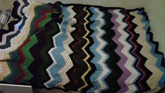 Teri Robertson (The Crochet Crowd) Tags: game stitch right blanket afghan throw crochetblanket thecrochetcrowd stitchisright