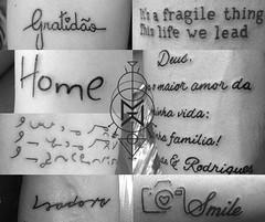 Compilao escritas (Marco Miranda Tattoo) Tags: letras trao