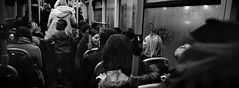 On the Bus - Gateshead (Richard James Palmer) Tags: street new uk portrait england urban blackandwhite white black bus art film monochrome 35mm newcastle photography iso3200 trapped shoot gloomy iso400 fineart north documentary rangefinder gritty panoramic ishootfilm tyne east iso ilfordhp5 400 walkabout epson hp5 analogue pushed melancholy hassleblad northern 3200 northeast ilford xpan f4 45mm isolated upon newcastleupontyne 1125 tyneandwear 2016 3200iso v700 microphen filmisnotdead ilfordmicrophen epsonperfectionv700 hasslebladxpan
