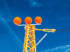 Orange Tower, Function unkown (omuendelein) Tags: blue orange tower austria sterreich glacier blau turm tux