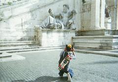 Surfin' Rome / Piazza del Campidoglio
