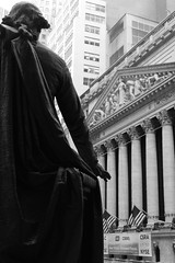Wall Street / Stock Exchange (angiiie23) Tags: street nyc statue stockexchange wallst
