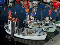 Fishing boats in the harbor of Niendorf (Ostseetroll) Tags: geotagged deutschland harbor fishingboats hafen deu schleswigholstein timmendorferstrand fischerboote niendorf ostseebalticsea geo:lat=5399247746 geo:lon=1081436363