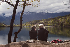 """Zawsze in love"" - Eternal love (KF_Photography) Tags: people italy mountain lake love nature water tirol couple forrest time outdoor south eternal bolzano zawsze nisekoi"