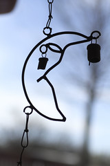 Moon Chime (JaymeGardner) Tags: oklahoma shapes windchimes lawton
