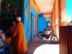 Morocco (denismartin) Tags: blue shadow sahara agadir motorbike morocco maroc marruecos imazighen tiznit berbere berbers tafraout taghazout ammeln denismartin