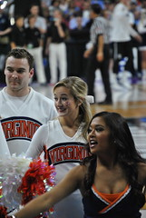 CHEERIN' FOR THE WAHOOS (SneakinDeacon) Tags: basketball cheerleaders providence tournament ncaa uva wahoos friars cavaliers bigeast hoos pncarena