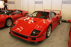 Ferrari F40 (Donato Tummillo) Tags: old canada classic vancouver wow amazing italian bc power fast autoshow ferrari expensive loud rare exclusive supercar v8 sportscar turbocharged f40 topgear rwd trackmonster revhappy tiredestroyer