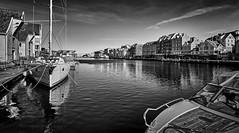 Haugesund, Norway (Vest der ute) Tags: sea seascape norway reflections boats rogaland fav25 g7x
