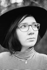 self (monika reiter) Tags: portrait blackandwhite woman selfportrait hat autoportrait vsco