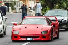 Ferrari F40 (effeNovanta - YOUTUBE) Tags: cars car canon eos video ferrari montecarlo monaco supercar supercars f40 youtube ferrarif40 topmarques topmarquesmontecarlo canon1100d monacotopmarques