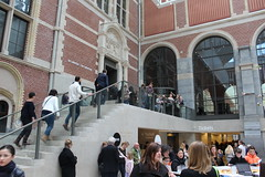 To the Collection (Davydutchy) Tags: art netherlands amsterdam museum tickets march kunst entrance nederland national info atrium rijksmuseum paysbas balie ingang kaartjes niederlande cuypers 2016